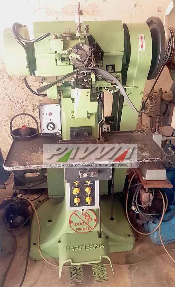 Máquina de costura de pontiadeira RAPIDISSIMA Eletrônica   - Pavvia Agulhas e Peças