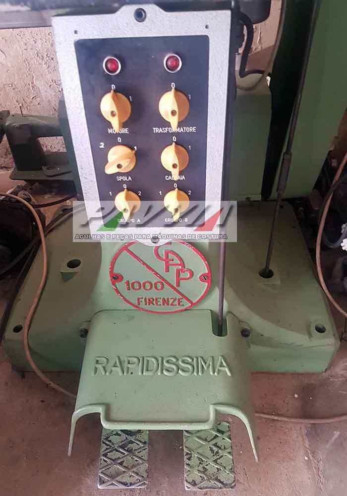 Maquina de costura de pontiar RAPIDISSIMA Eletrônica
