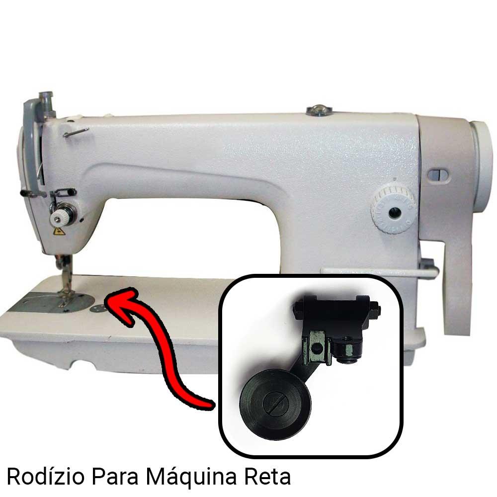 Rodizio Médio Para Máquina De Costura Esquerda  - Pavvia Agulhas e Peças