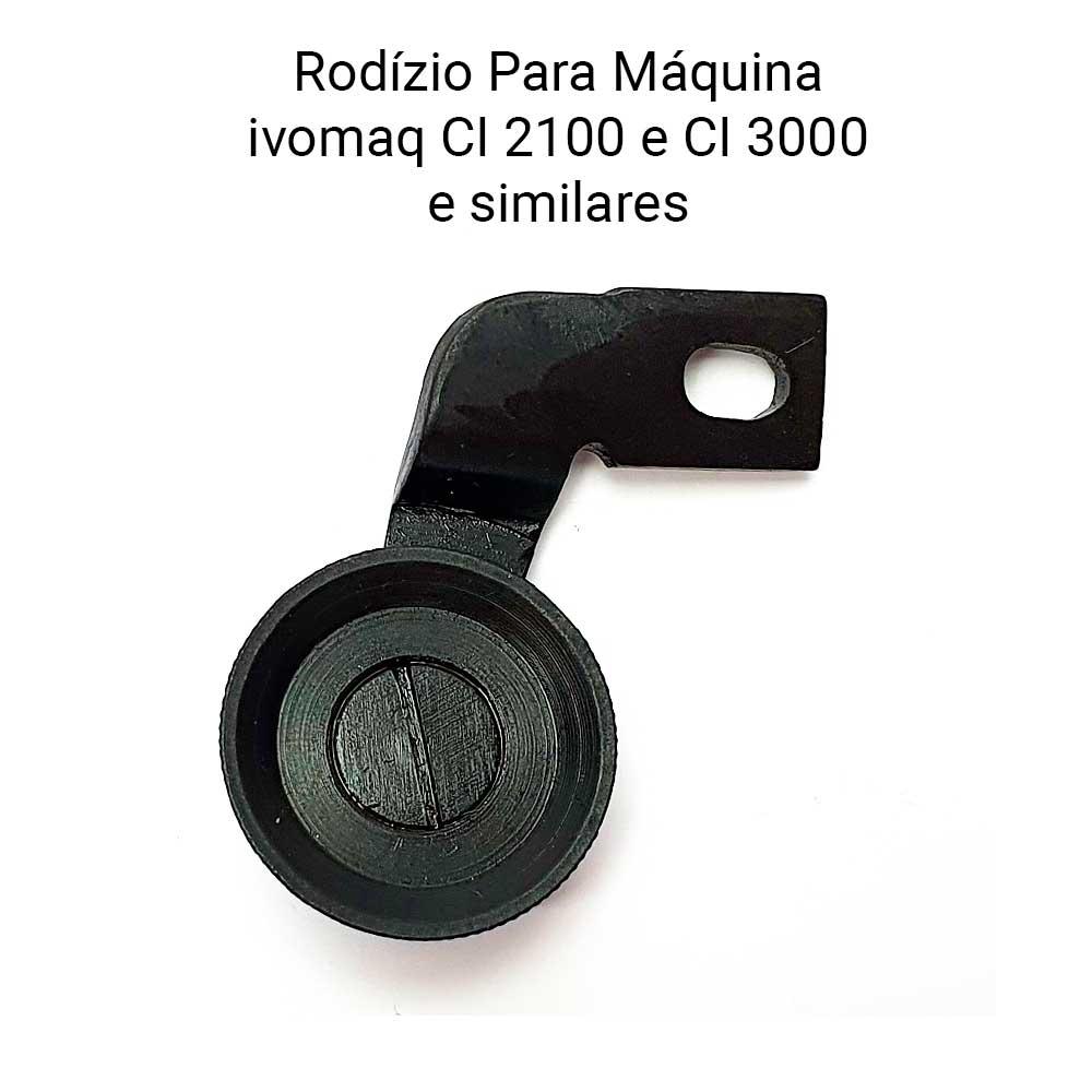Rodizio Médio Para Máquina IVOMAQ CI 2100 CI 3000  - Pavvia Agulhas e Peças