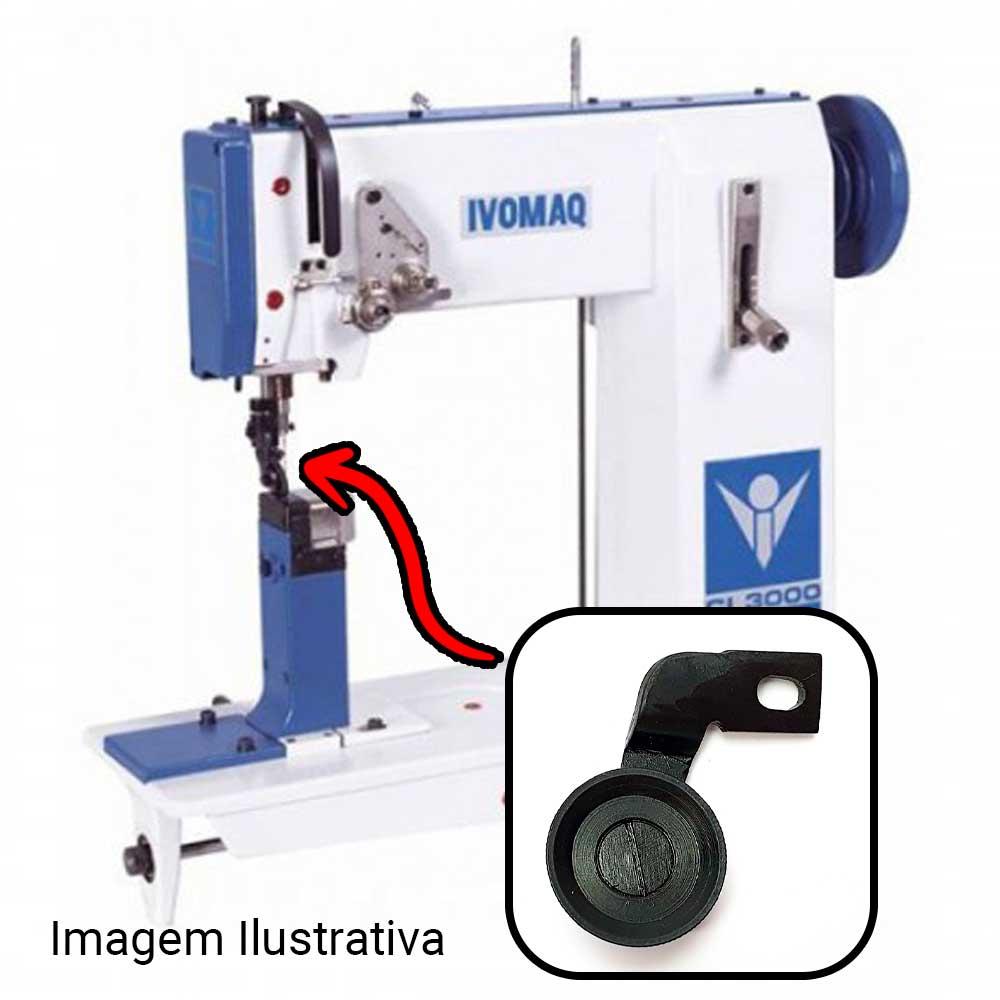 Rodizio Pequeno Para Máquina De Costura IVOMAQ CI 2100 ou CI 3000  - Pavvia Agulhas e Peças
