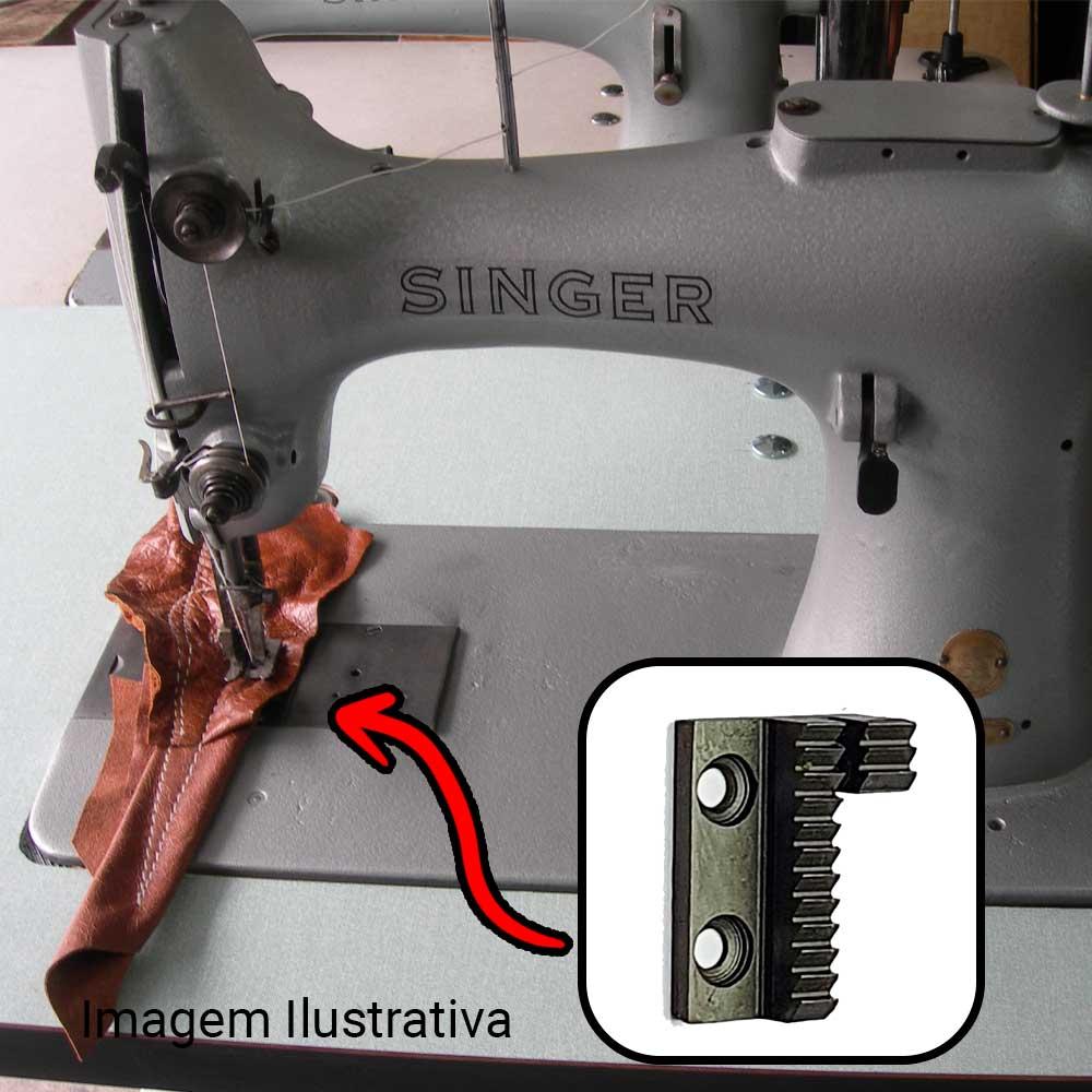 Serrilha 2 Carreiras Para Máquina Singer 132 K6 K10 K12  S S123 2 C  - Pavvia Agulhas e Peças