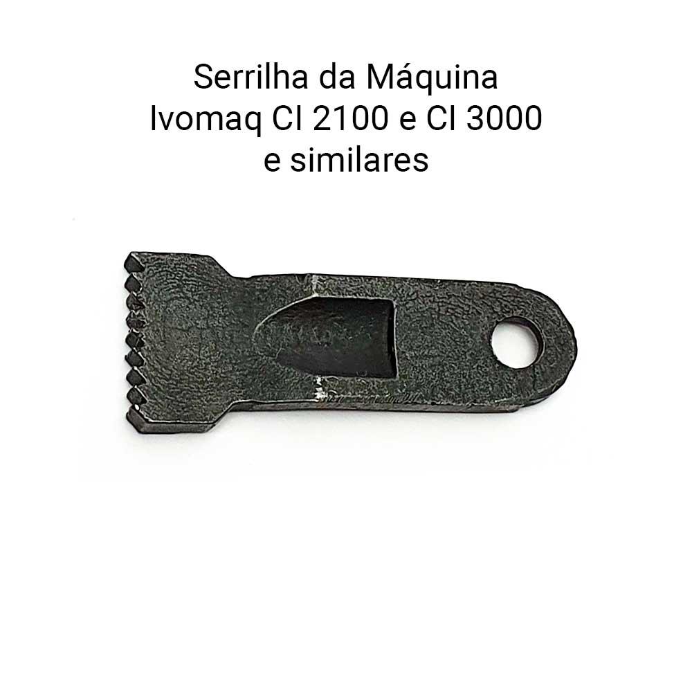 Serrilha ou Dente Para Máquina 1 Agulha Adler 68 168 268  - Pavvia Agulhas e Peças