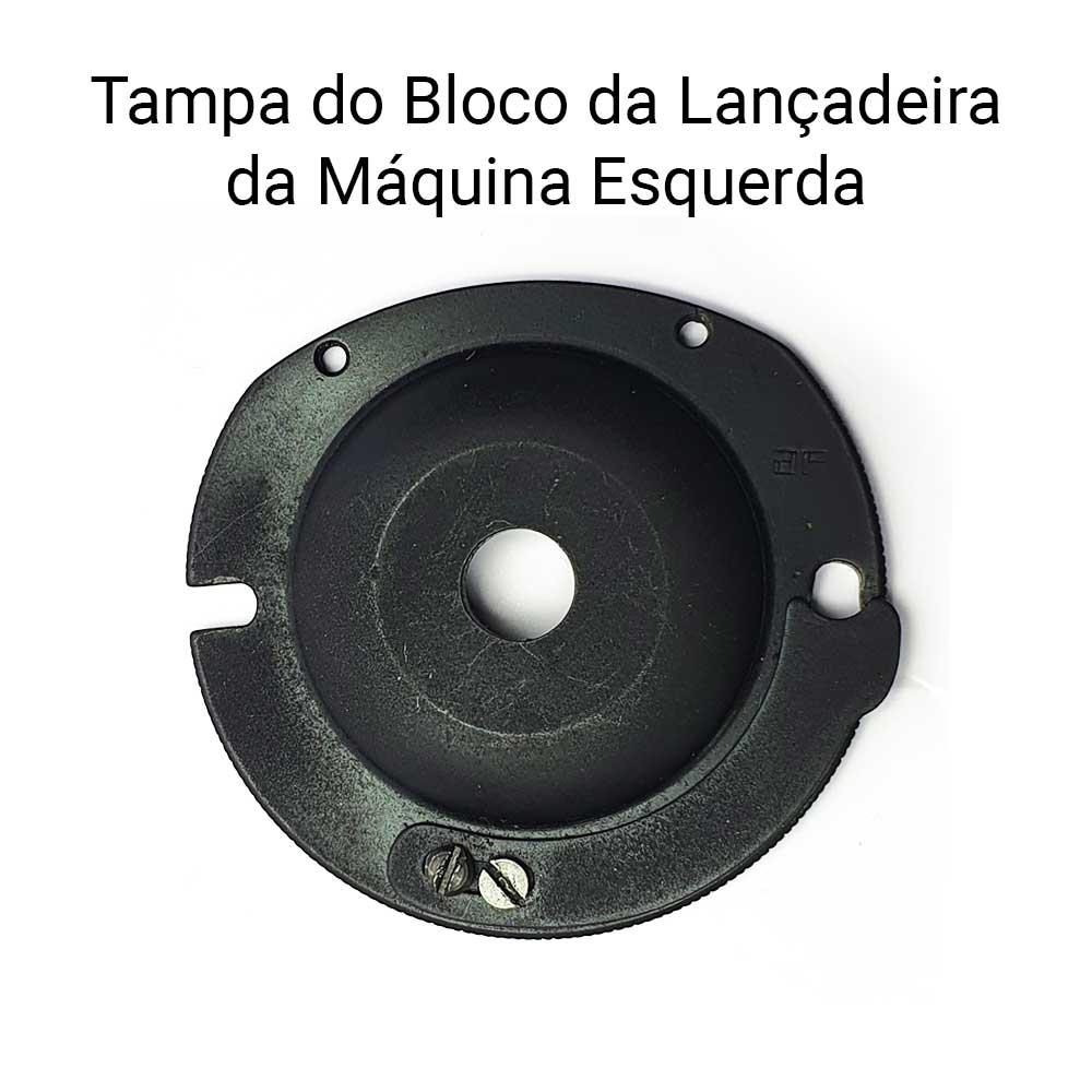 Tampa Do Bloco Da Maquina De Costura Esquerda 18U 8066  - Pavvia Agulhas e Peças