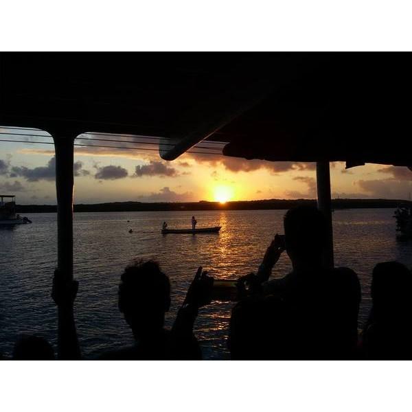 Pôr do Sol na Praia do Jacaré com Passeio de Barco - Cabedelo, PB