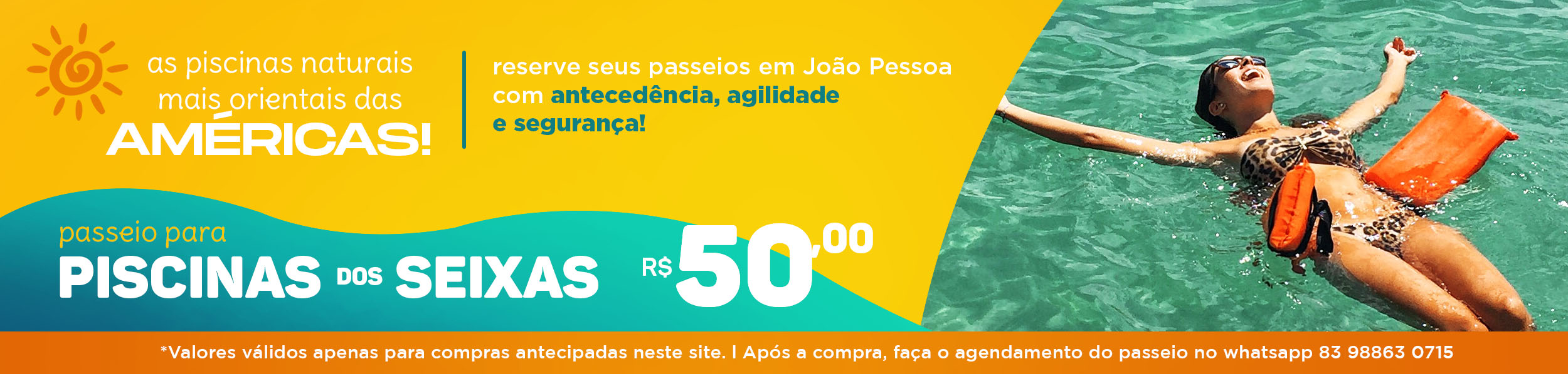 piscinas do seixas com 100% lazer!