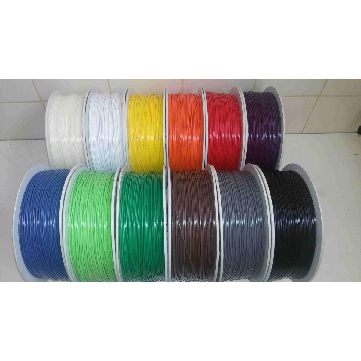 Filamento ABS 1,75 mm (carretel de 1 kg)