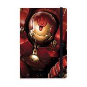 Caderno de Notas Hulkbuster Vingadores A Era de Ultron