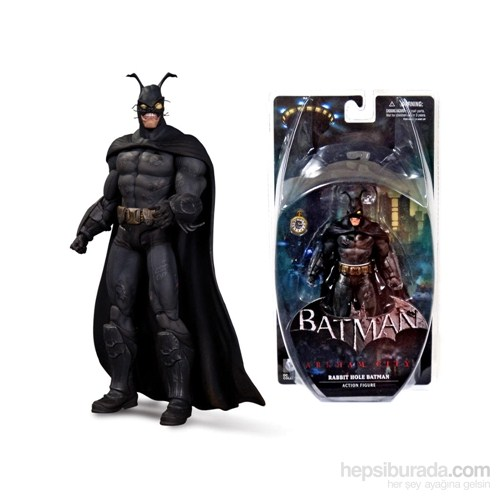 Batman Arkham City Rabbit Hole Batman - Dc Collectibles