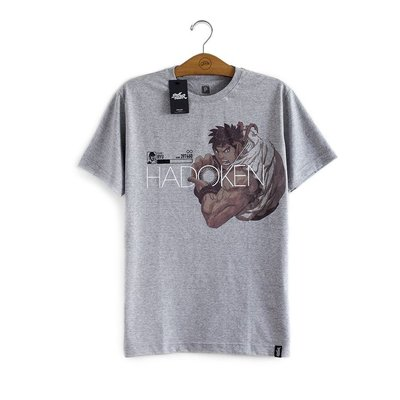 Camiseta Ryu Hadoken Street Fighter