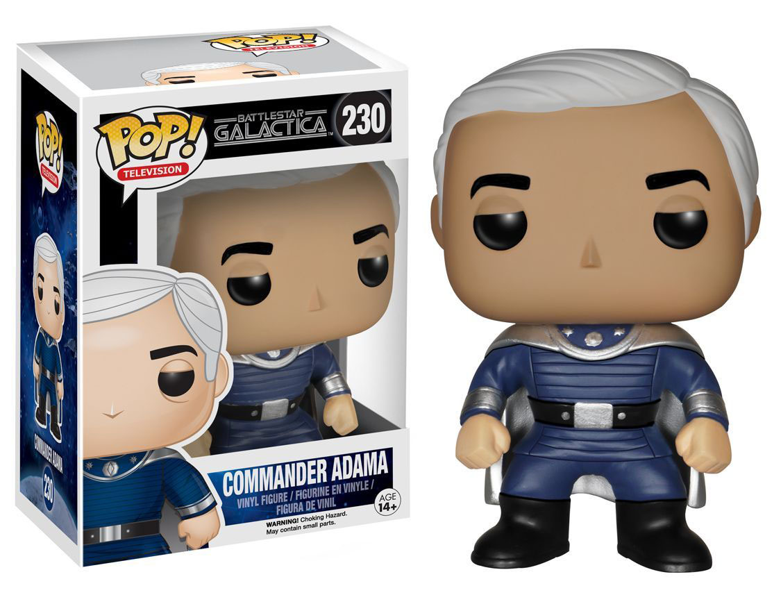 Commander Adama Battlestar Galactica Pop Vinyl Funko