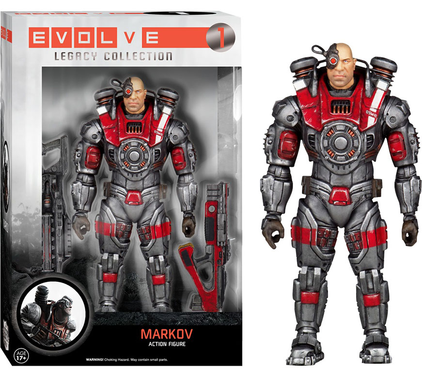 Evolve Markov Action Figure Funko Legacy