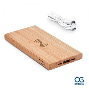 Bateria Portátil Bambu Personalizada - 97909