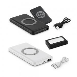 Bateria Portátil e Carregador Wireless Personalizado