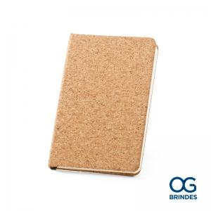 Caderno Capa Dura Cortiça Personalizado