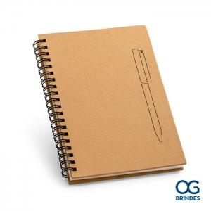 Caderno Capa Dura Personalizado 13 x 18