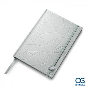 Caderno Capa Dura SWAROVSKI Personalizado - 15 x 21