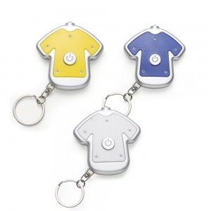 Chaveiro Lanterna Camiseta Personalizado