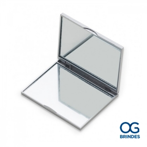 Espelho Plástico Duplo Personalizado