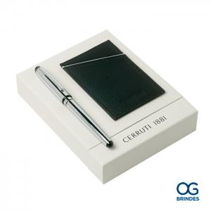 Kit Porta Cartões CERRUTI Personalizado - 42052