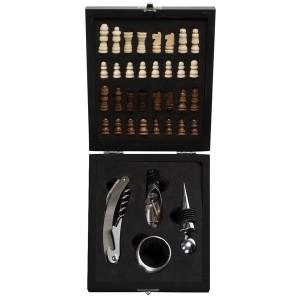 Kit Vinho Caixa de Madeira 4 peças Personalizado