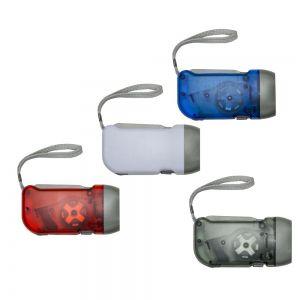 Lanterna Dínamo 3 LEDS Personalizada