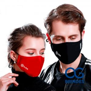 Máscara Lavável Silk Personalizada