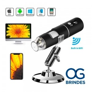 Microscópio Digital Usb Zoom 1000x Personalizado