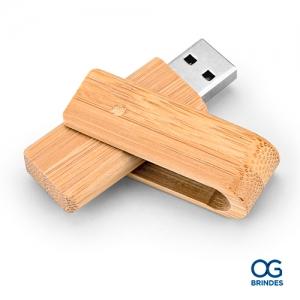Pen Drive Bambu Personalizado - P054