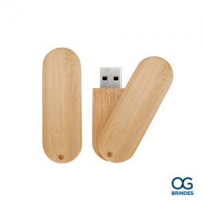 Pen Drive Bambu Personalizado - P019