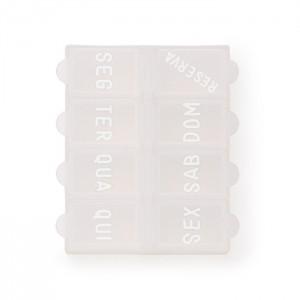 Porta Comprimido Semanal Personalizado