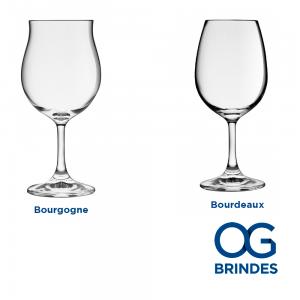 Taça p/ Vinho Bourgogne e Bourdeaux Personalizada