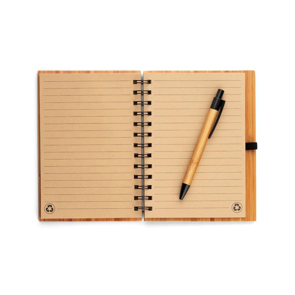 Caderno Bambu Personalizado