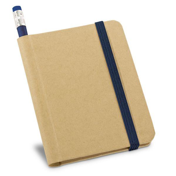 Caderno Moleskine Ecológico com Lápis Personalizado