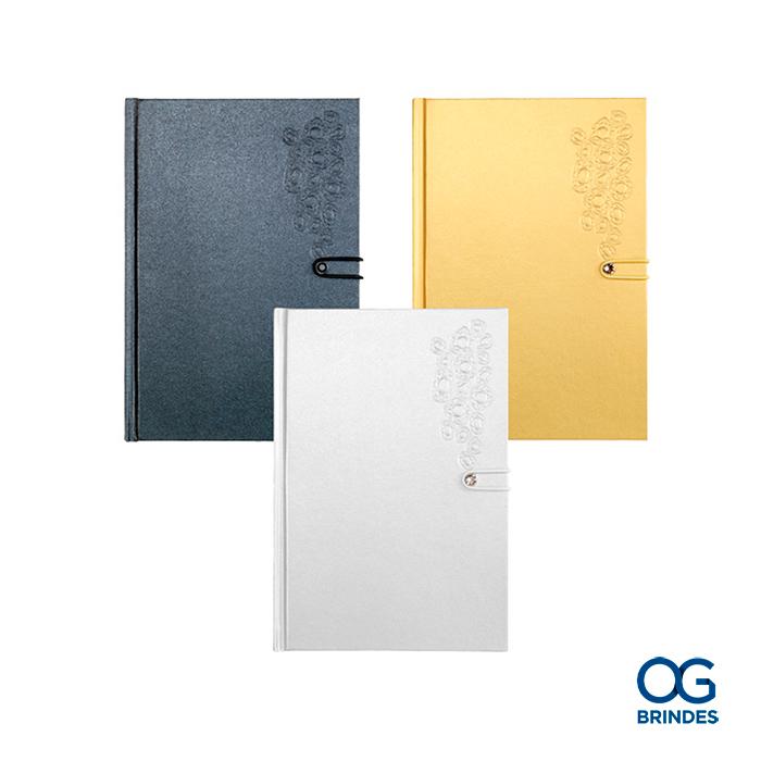 Caderno Capa Dura SWAROVSKI Personalizado - 43014