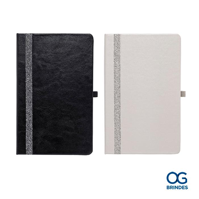 Caderno Capa Dura SWAROVSKI Personalizado - 13 x 21