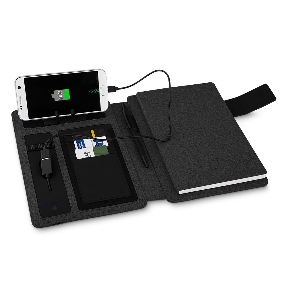 Agenda Bateria Portátil Personalizada