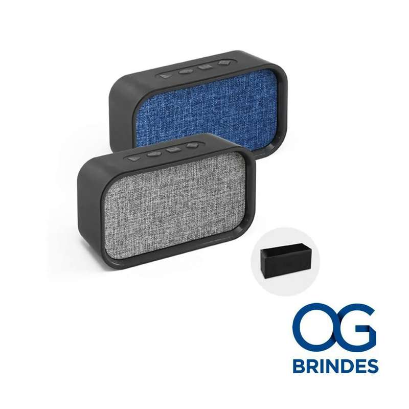 Caixa de Som Bluetooth com Microfone Personalizada