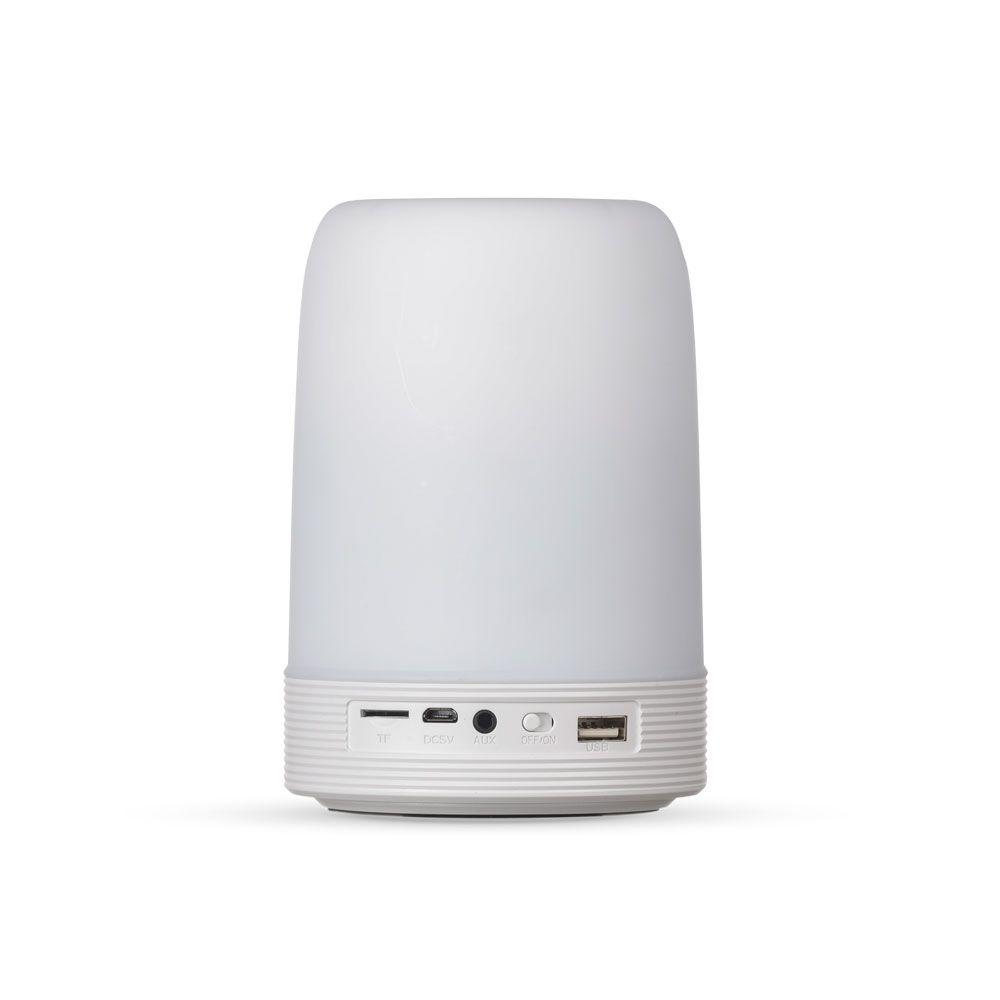 Caixa de Som Multimídia com Porta Caneta e Luminária Personalizada