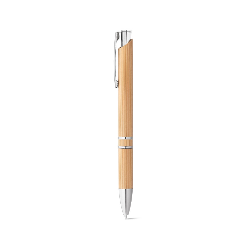 Caneta Esferográfica Bambu Personalizada - 81011