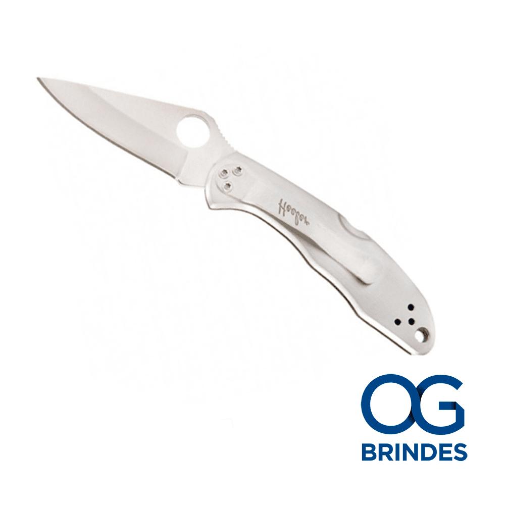 Canivete Inox e Madeira Personalizado - 9440/3