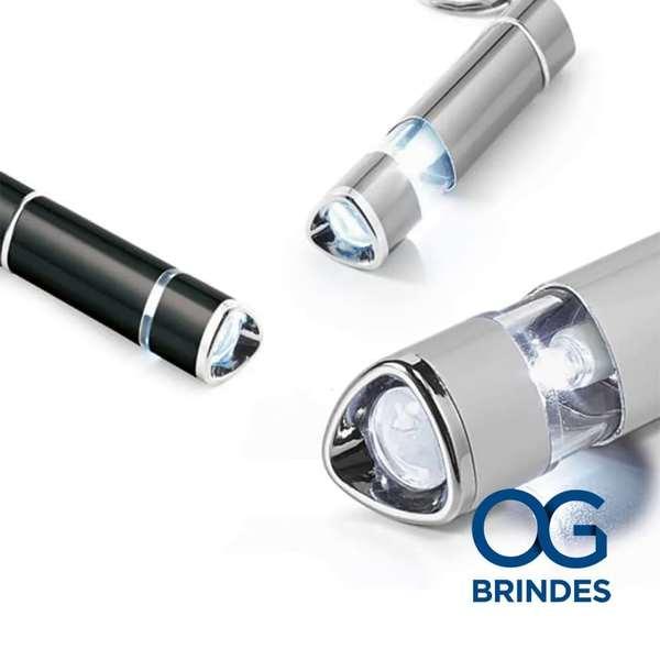 Chaveiro Alumínio Luminária LED  Personalizado