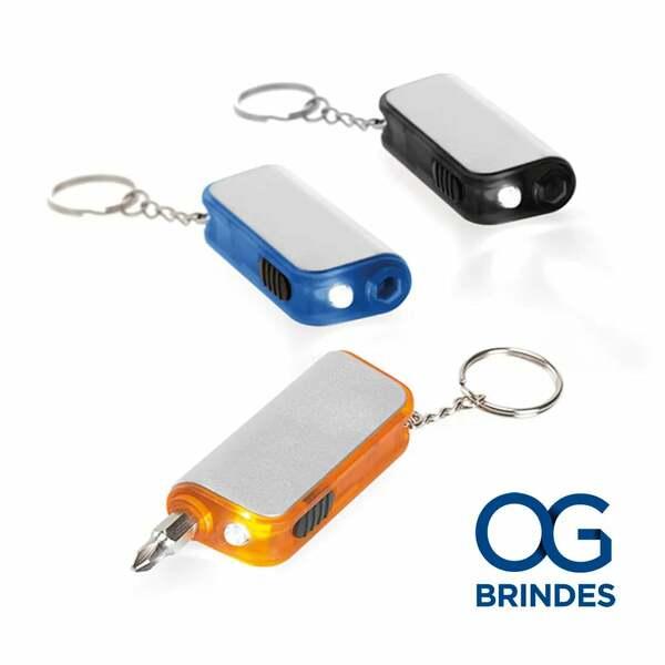 Chaveiro com LED Personalizado - 94006