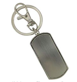 Chaveiro Porta Bolsa Retangular Personalizado