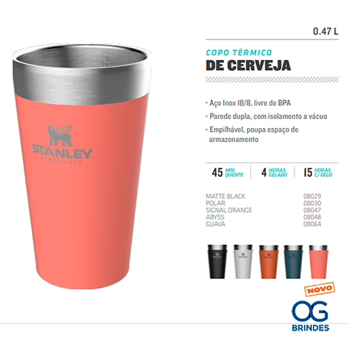 Copo Térmico de Cerveja Stanley Personalizado - CTCPS