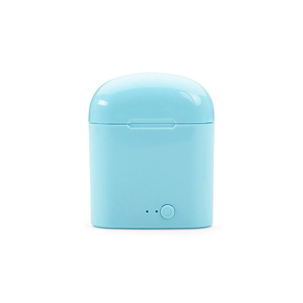 Fone de Ouvido Bluetooth com Case Carregador Personalizado