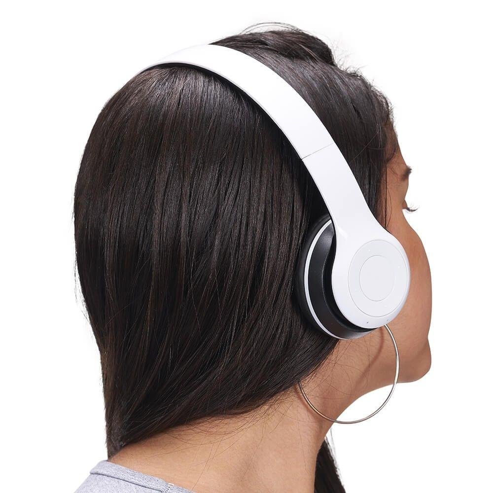 Fone de Ouvido Brilhante Bluetooth Personalizado