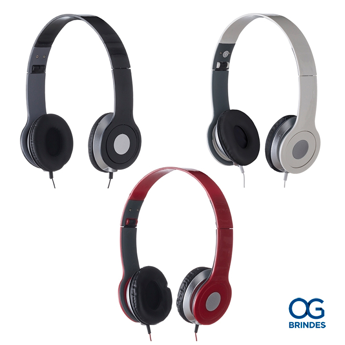 Fone de Ouvido Estéreo Personalizado - 12613