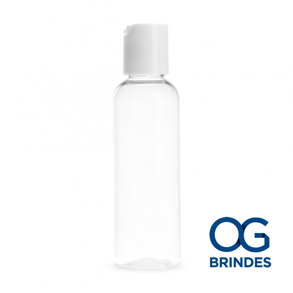 Frasco Álcool em Gel Plástico 60ml Personalizado
