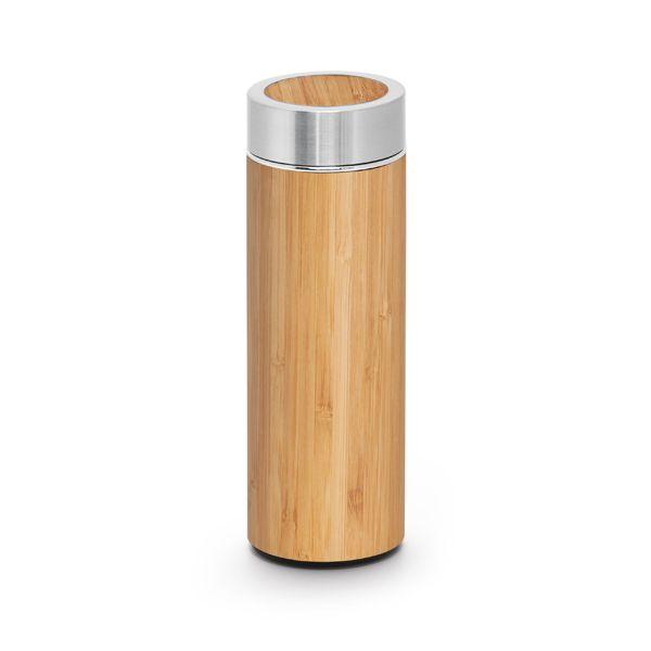 Garrafa Térmica Bambu Personalizada
